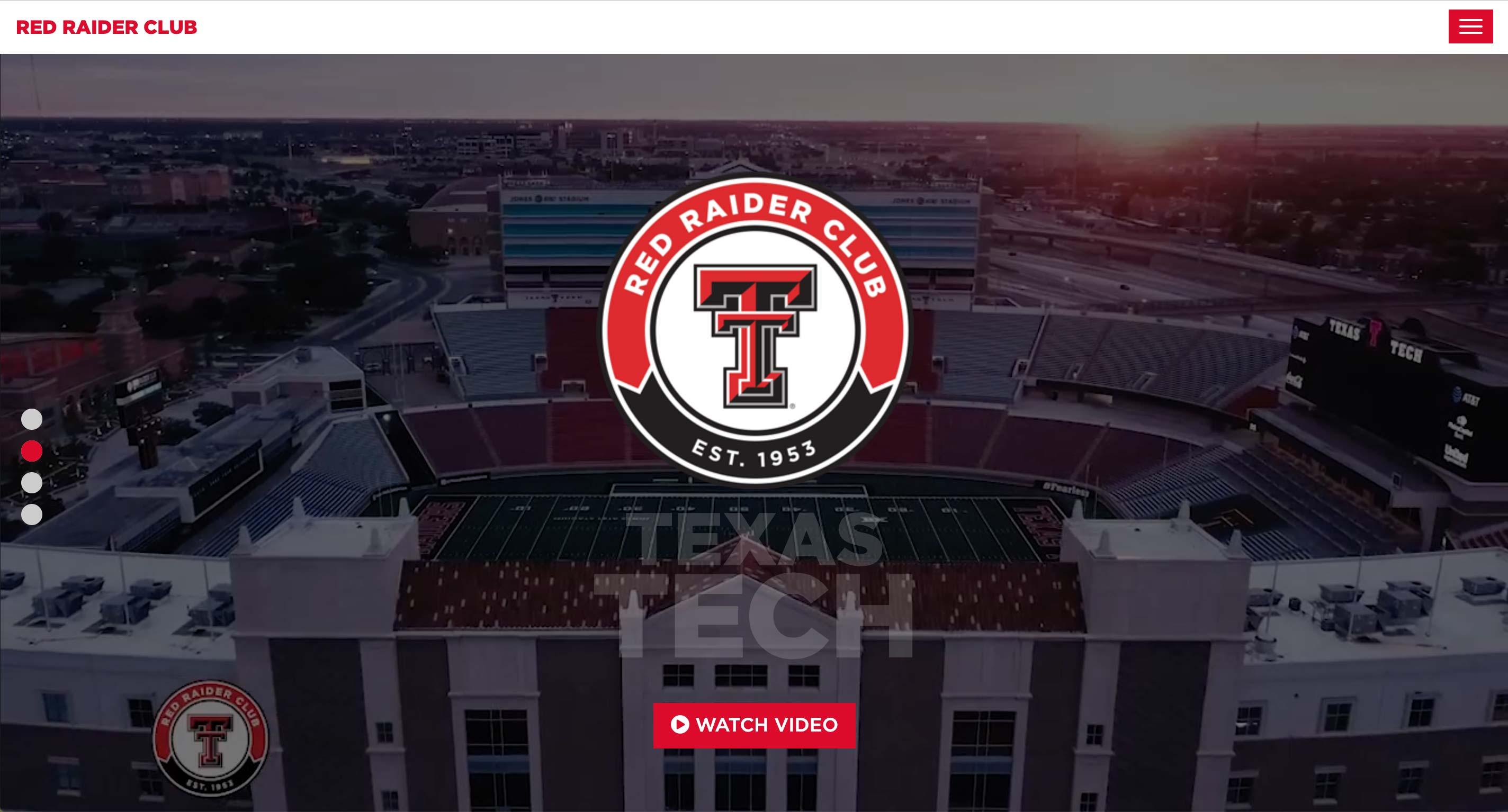 Red Raider Club Fundraising Website | <a href='http://redraiderclub.com/' target='_blank'>Visit Site <i class='nc-icon-glyph arrows-1_share-91'></i></a><br><span>Texas Tech University</span>