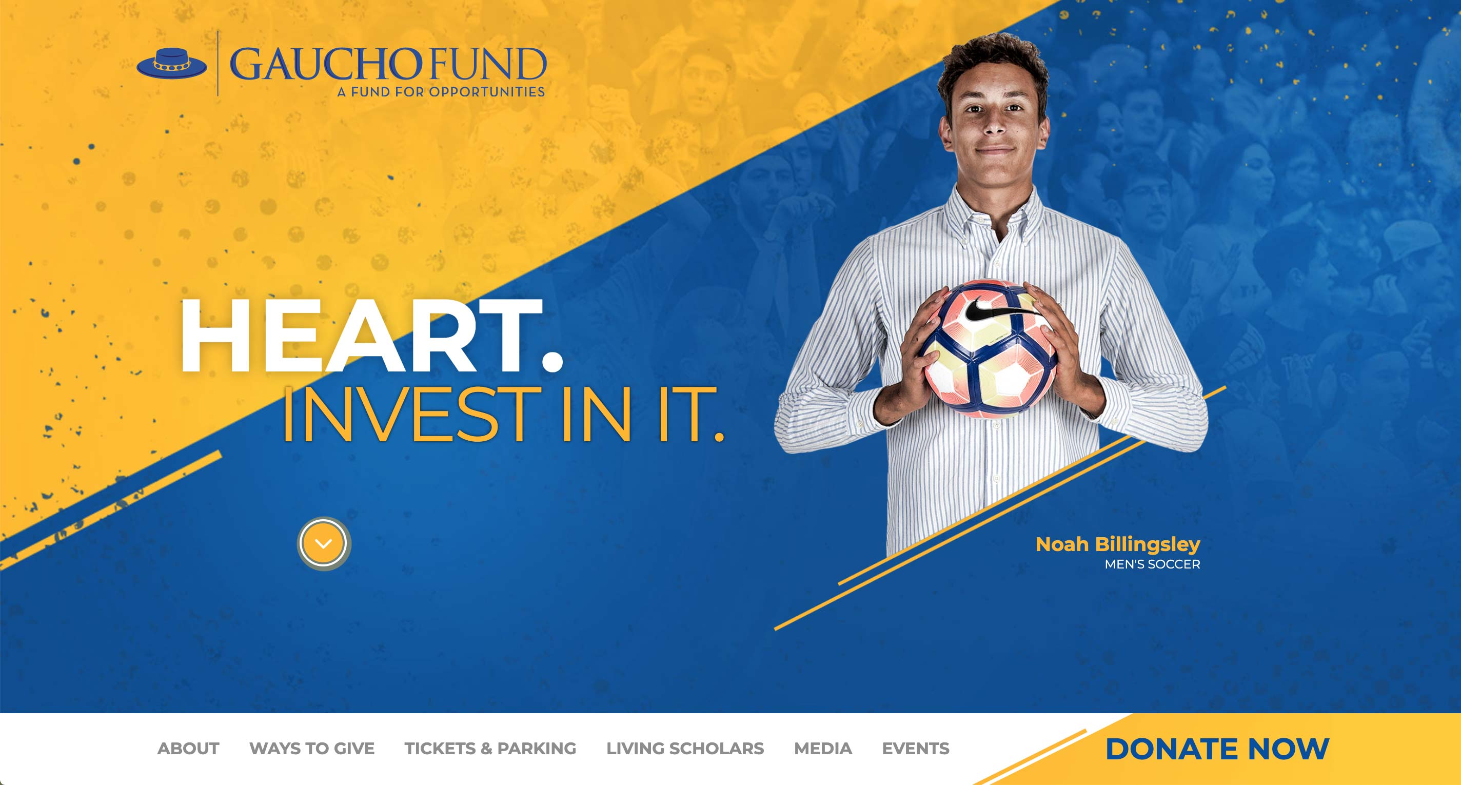 Gaucho Fund Fundraising Website | <a href='http://gauchofund.com/' target='_blank'>Visit Site <i class='nc-icon-glyph arrows-1_share-91'></i></a><br><span>University of California, Santa Barbara</span>